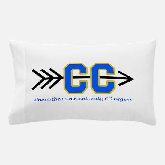PAVEMENT ENDS APPLIQUE Pillow Case