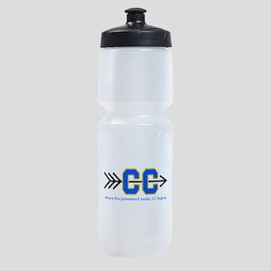 PAVEMENT ENDS APPLIQUE Sports Bottle