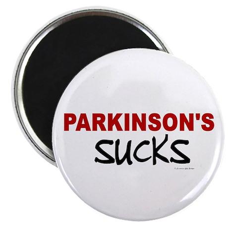 Parkinson's Sucks 1.1 Magnet