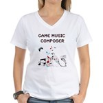 Game Music Composer T-Shirt