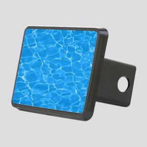 Blue Water Rectangular Hitch Cover