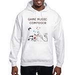 Game Music Composer Hoodie Hooded Sweatshirt
