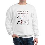 Game Music Composer Sweatshirt