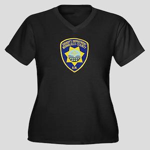 Bernalillo County Sheriff Women's Plus Size V-Neck