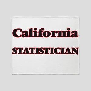 California Statistician Throw Blanket