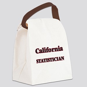 California Statistician Canvas Lunch Bag