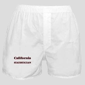 California Statistician Boxer Shorts