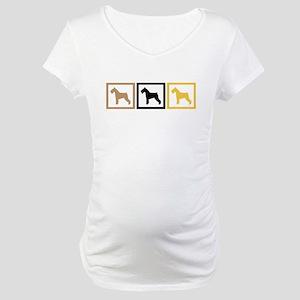 Schnauzer Maternity T-Shirt