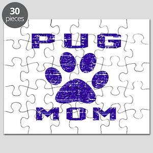 Pug mom designs Puzzle