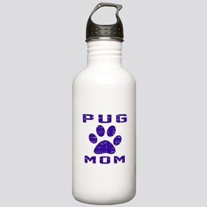 Pug mom designs Stainless Water Bottle 1.0L
