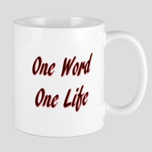 One Word Mugs