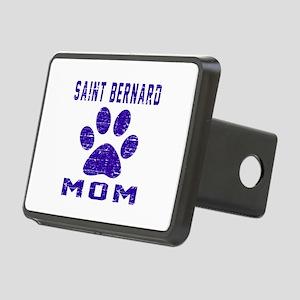 Saint Bernard mom designs Rectangular Hitch Cover