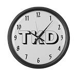 Tae Kwon Do TKD Large Wall Clock