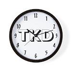 Tae Kwon Do TKD Wall Clock