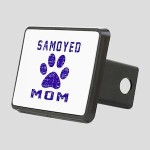 Samoyed mom designs Rectangular Hitch Cover