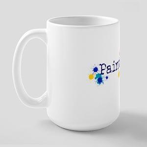 Paintball Splatter Large Mug