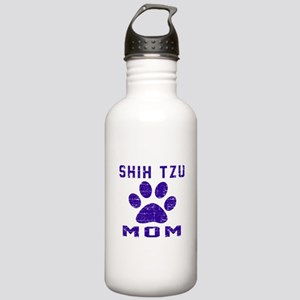Shih Tzu mom designs Stainless Water Bottle 1.0L