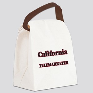 California Telemarketer Canvas Lunch Bag