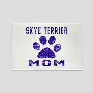 Skye Terrier mom designs Rectangle Magnet