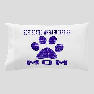 Soft Coated Wheaten Terrier mom design Pillow Case