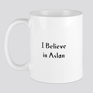 I Believe in Aslan Mug