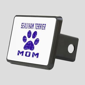 Sealyham Terrier mom desig Rectangular Hitch Cover