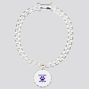Sussex Spaniel mom desig Charm Bracelet, One Charm