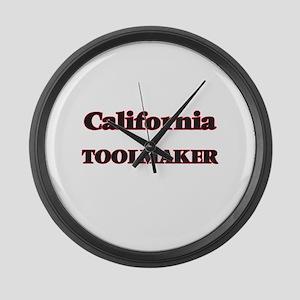 California Toolmaker Large Wall Clock