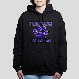 Tibetan Terrier mom desi Women's Hooded Sweatshirt