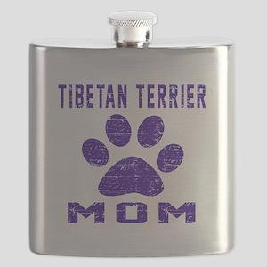 Tibetan Terrier mom designs Flask