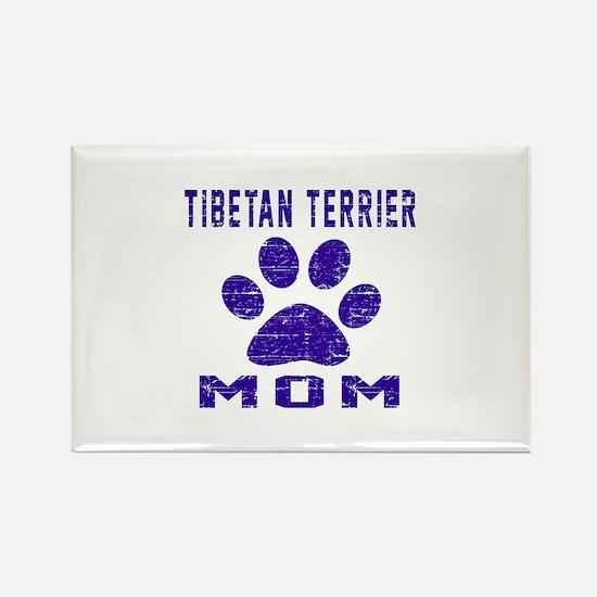 Tibetan Terrier mom des Rectangle Magnet (10 pack)