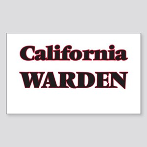 California Warden Sticker