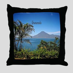 Guatemala, Nature's Beautiful Landsca Throw Pillow