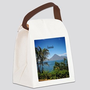 Guatemala, Nature's Beautiful Lan Canvas Lunch Bag