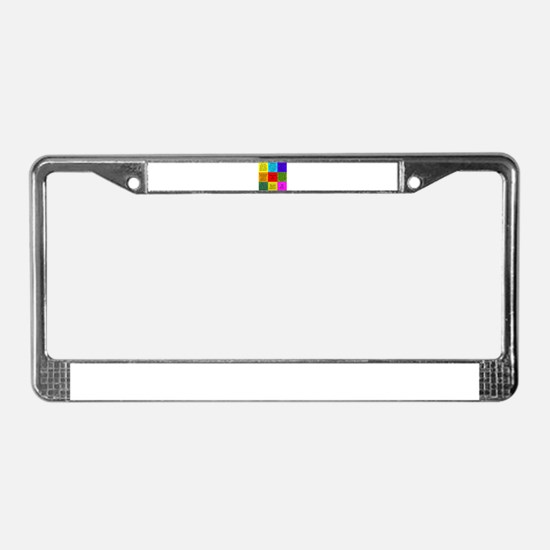 Sherlock Holmes Quotes License Plate Frame