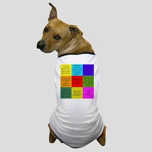 Sherlock Holmes Quotes Dog T-Shirt