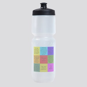Sherlock Holmes Quotes Sports Bottle