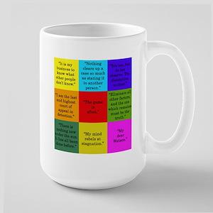 Sherlock Holmes Quotes Mugs