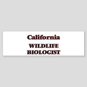 California Wildlife Biologist Bumper Sticker
