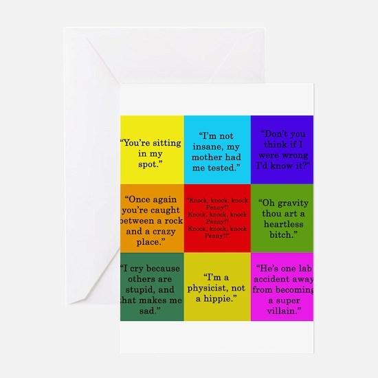 Big Bang Quotes Greeting Cards