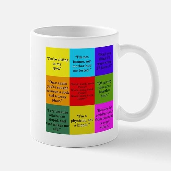 Big Bang Quotes Mugs