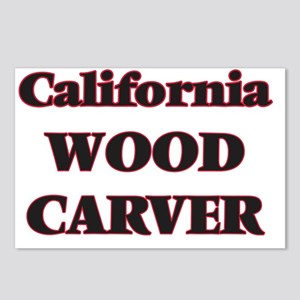California Wood Carver Postcards (Package of 8)