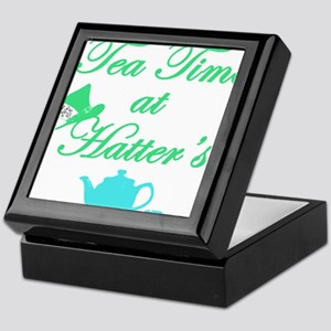 Tea Time at Hatters Keepsake Box