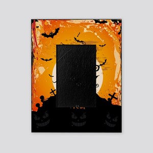 Castle On Halloween Night Picture Frame