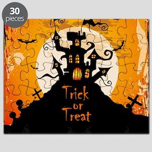 Castle On Halloween Night Puzzle