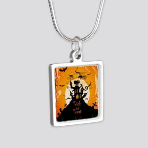 Castle On Halloween Night Necklaces