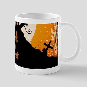 Castle On Halloween Night Mugs