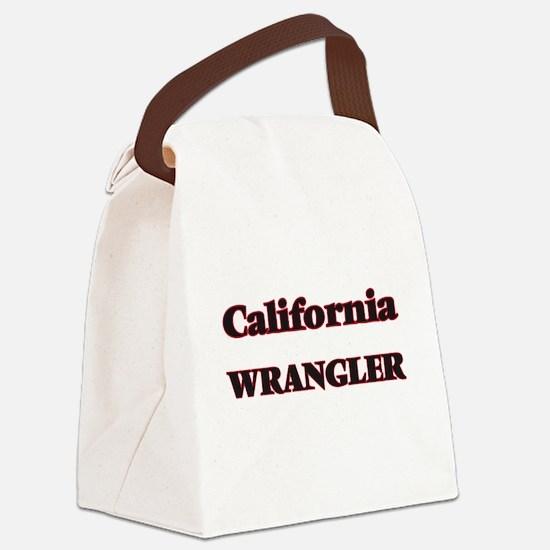 California Wrangler Canvas Lunch Bag