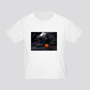 Halloween Pumpkin And Haunted House T-Shirt