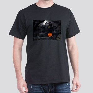 Halloween Pumpkin And Haunted House T-Shirt